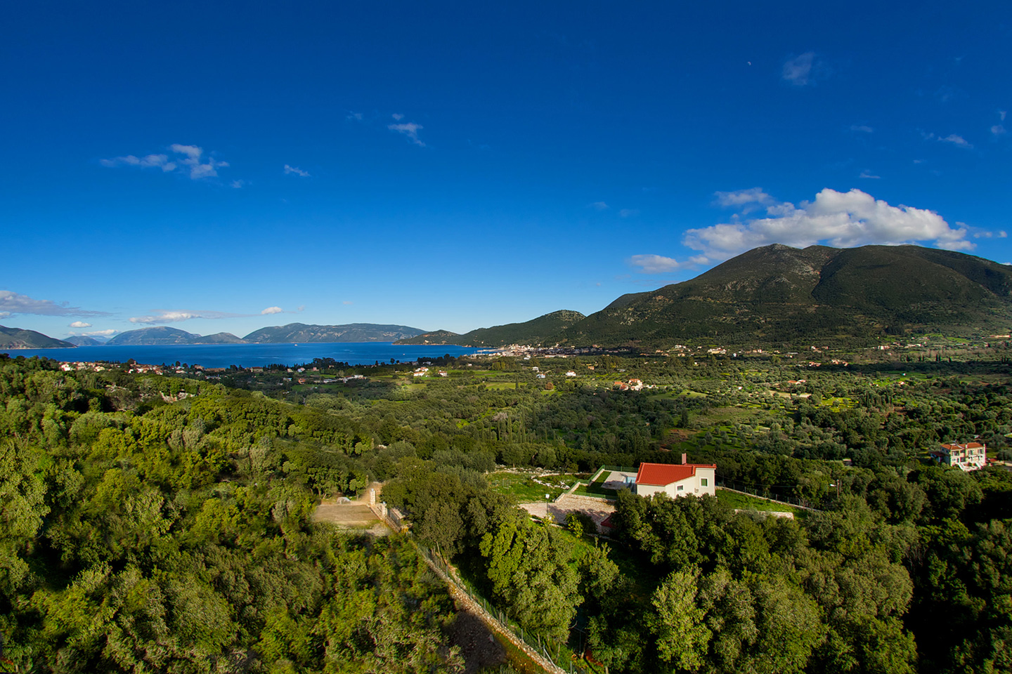 kefalonia luxury villa